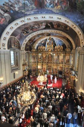 Света Литургија у Саборној цркви