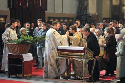 Св.Литургија у Саборној цркви