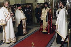 Бденије уочи Славе Саборне цркве
