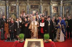 Орден св. деспота Стефана хору Саборне цркве