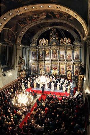 Хор ГЛИНКА одржао концерт у Саборној цркви